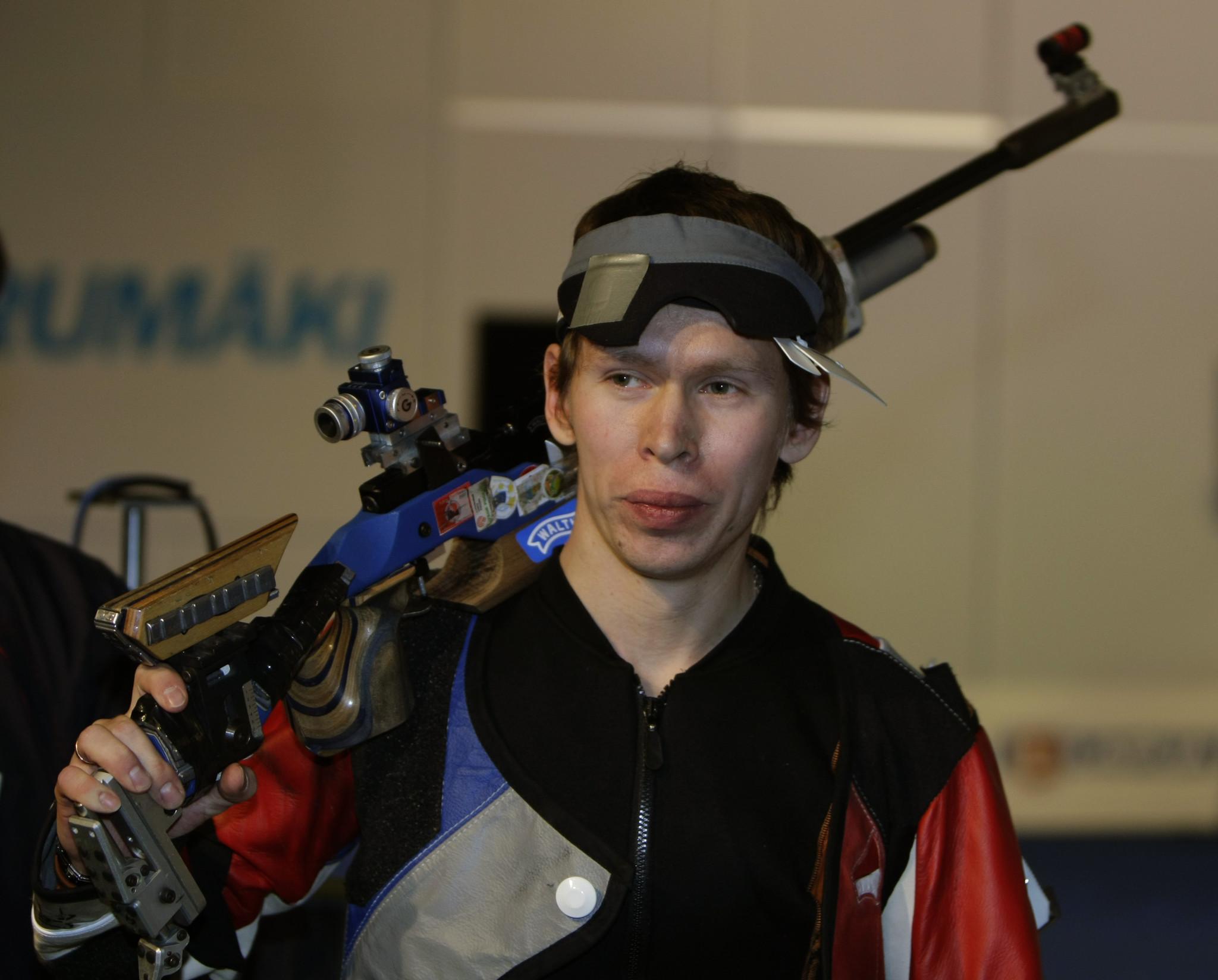 Иркутский стрелок Артем Черноусов завоевал серебряную медаль наВсероссийских соревнованиях